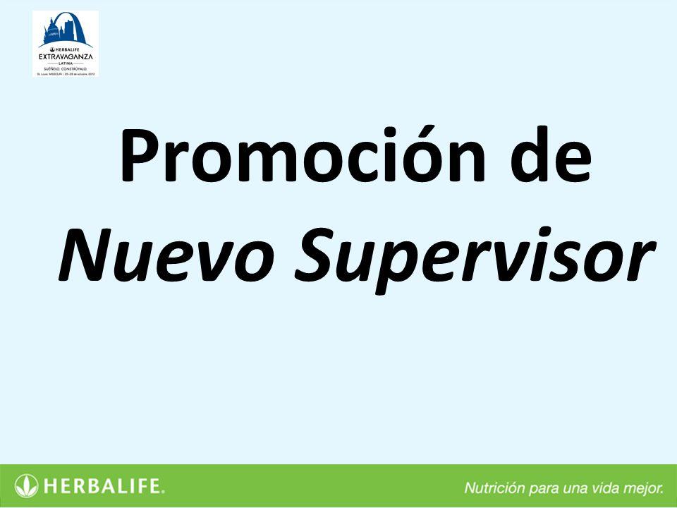 Promoción de Nuevo Supervisor