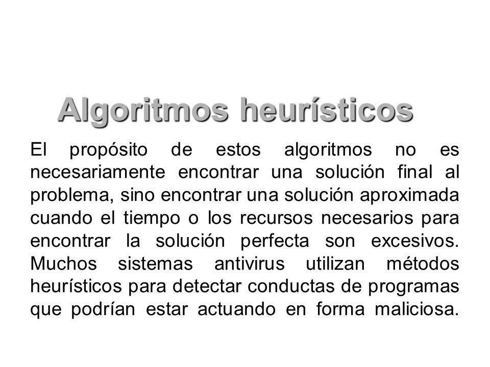 Algoritmos heurísticos
