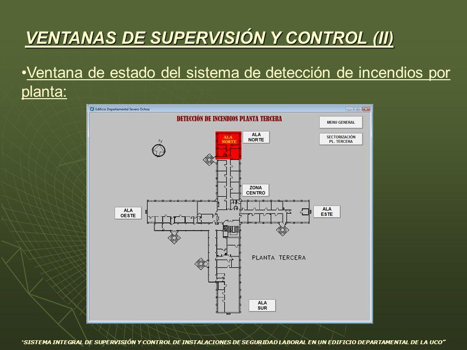 VENTANAS DE SUPERVISIÓN Y CONTROL (II)