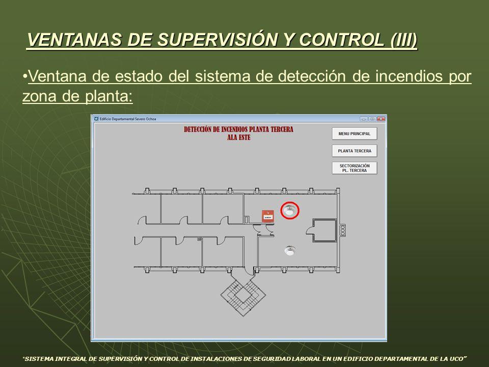 VENTANAS DE SUPERVISIÓN Y CONTROL (III)