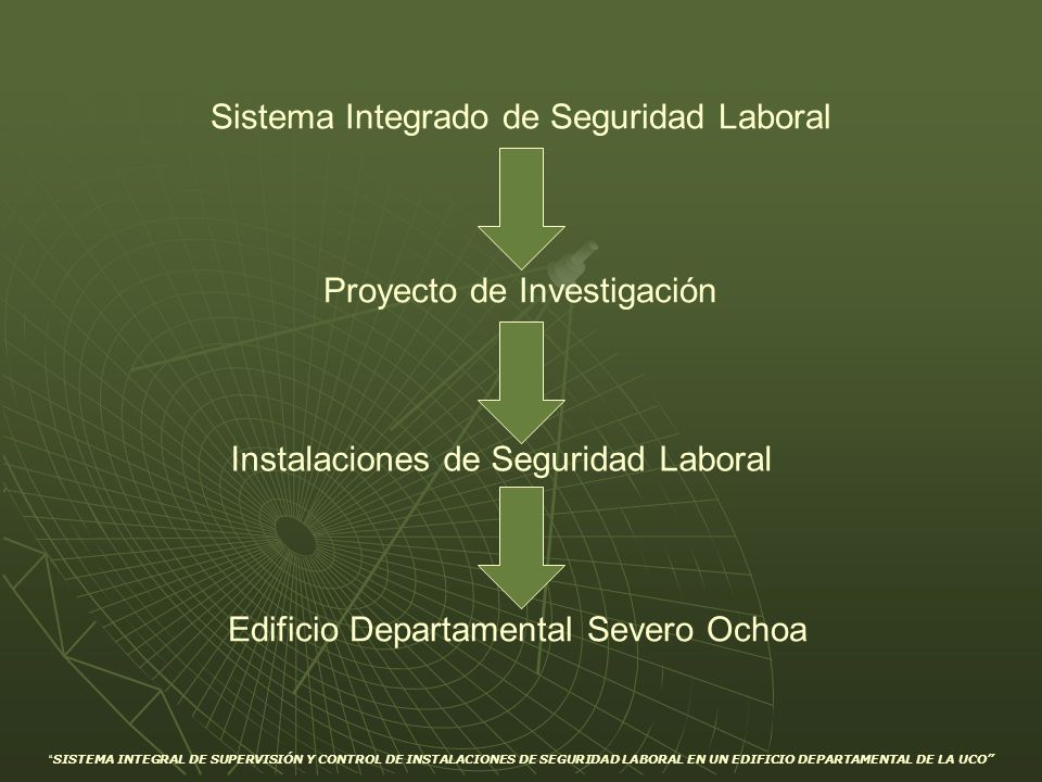Sistema Integrado de Seguridad Laboral