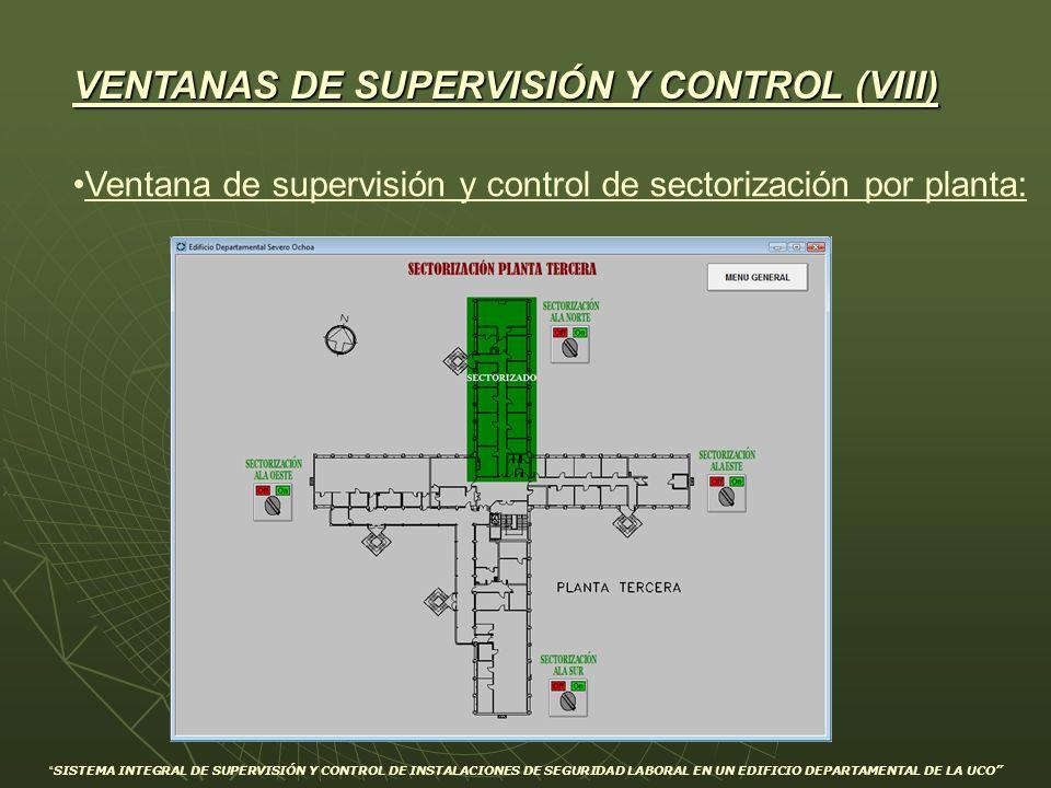 VENTANAS DE SUPERVISIÓN Y CONTROL (VIII)