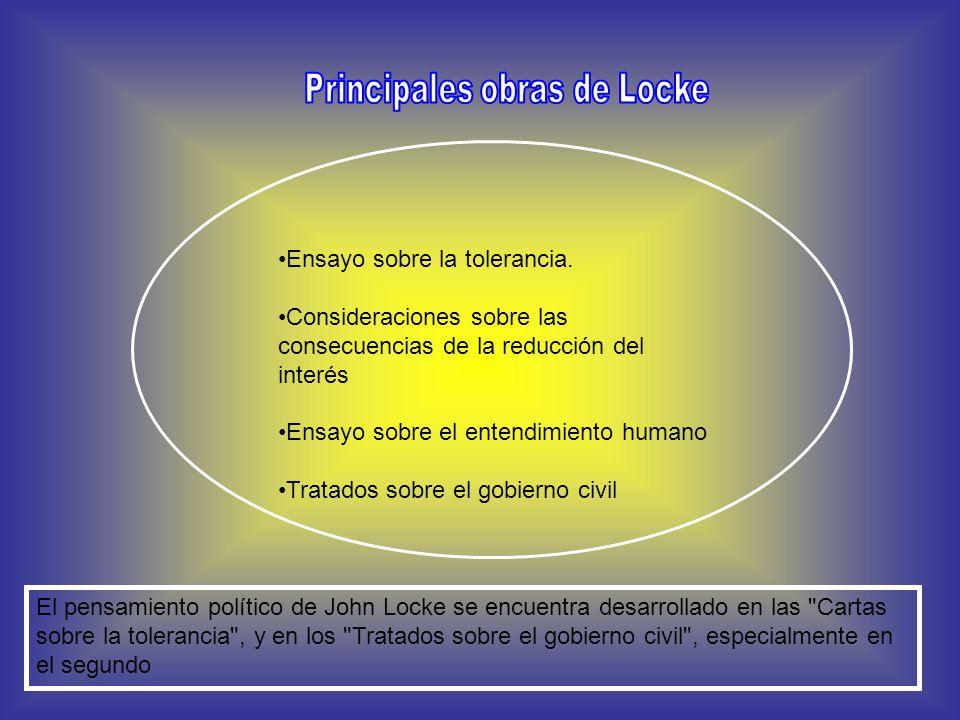 Principales obras de Locke