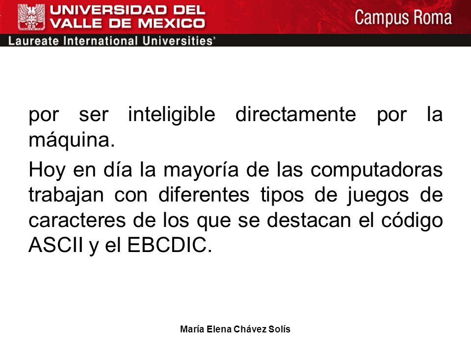 María Elena Chávez Solís