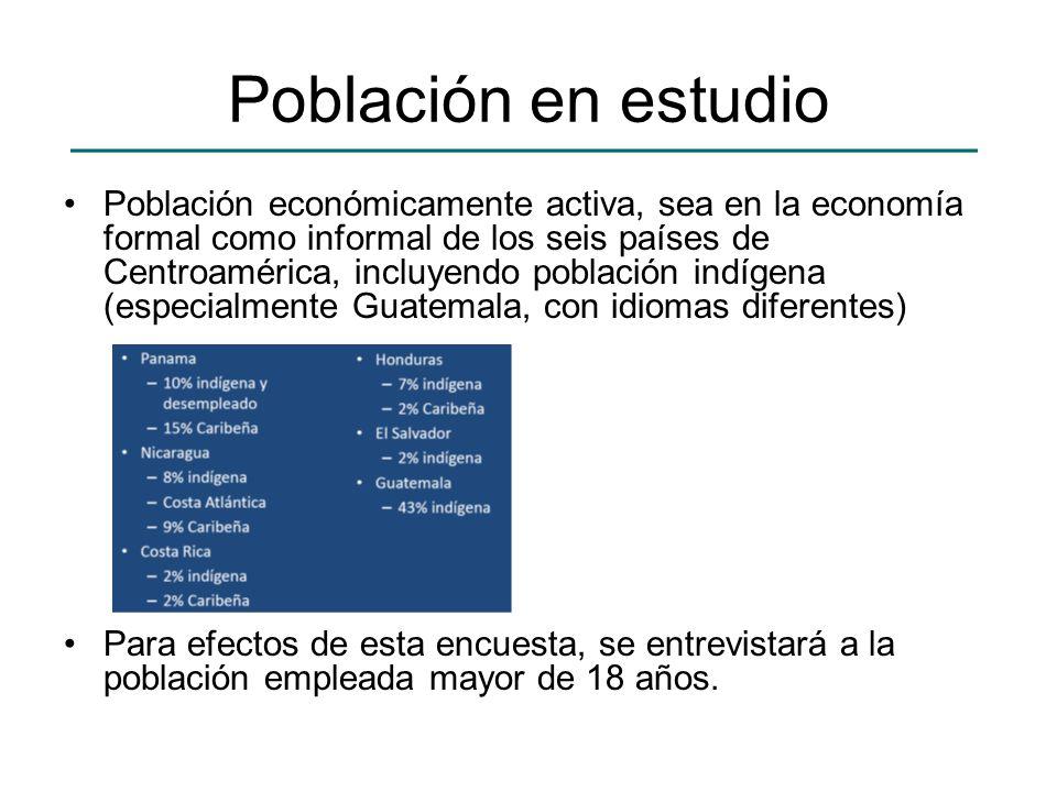 Población en estudio