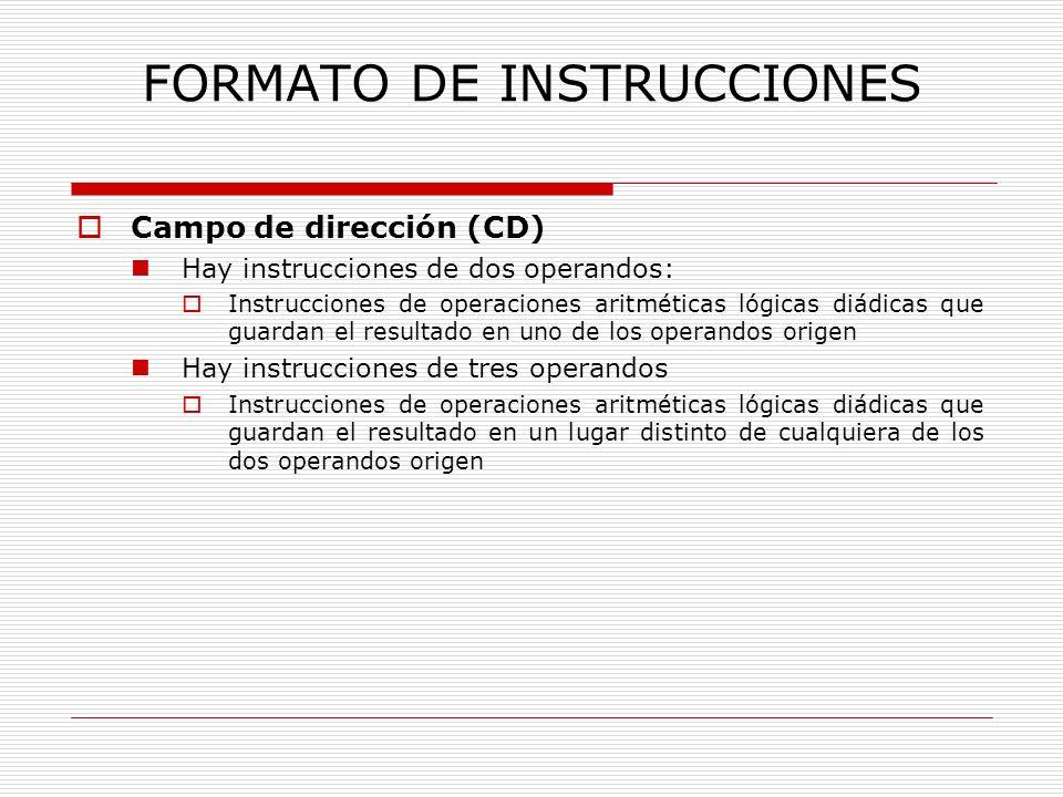 FORMATO DE INSTRUCCIONES