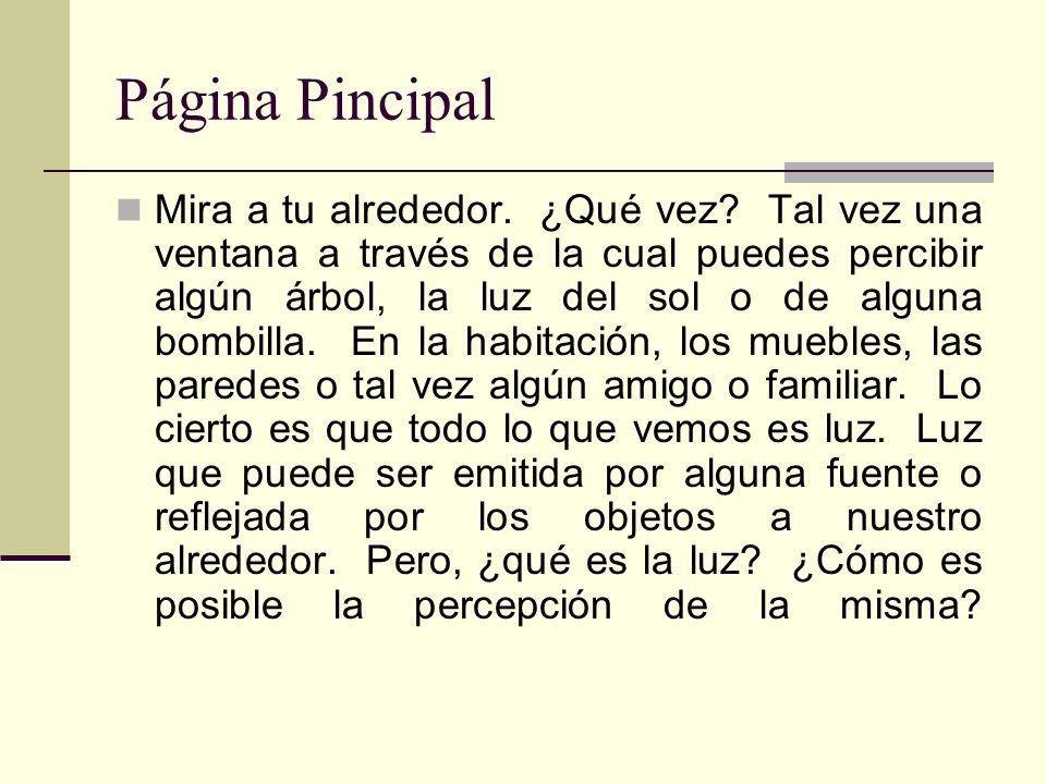 Página Pincipal