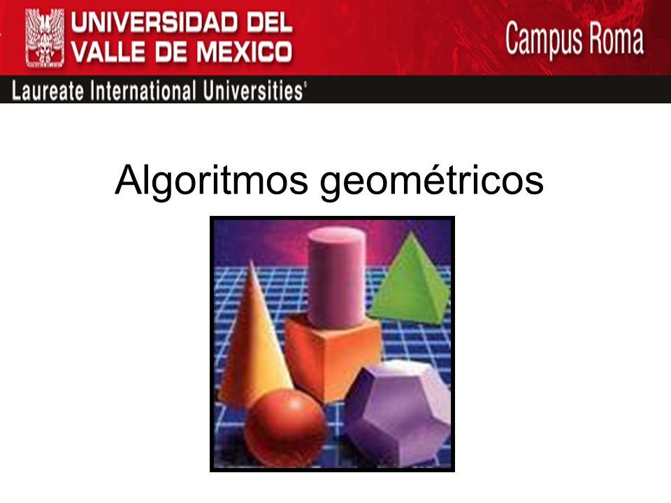Algoritmos geométricos