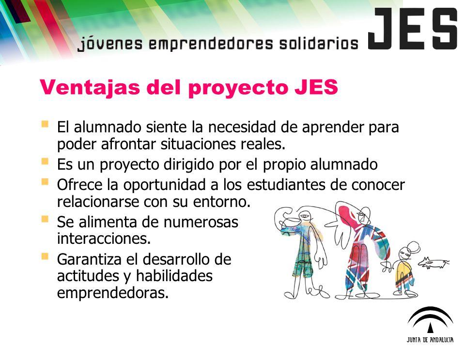 Ventajas del proyecto JES