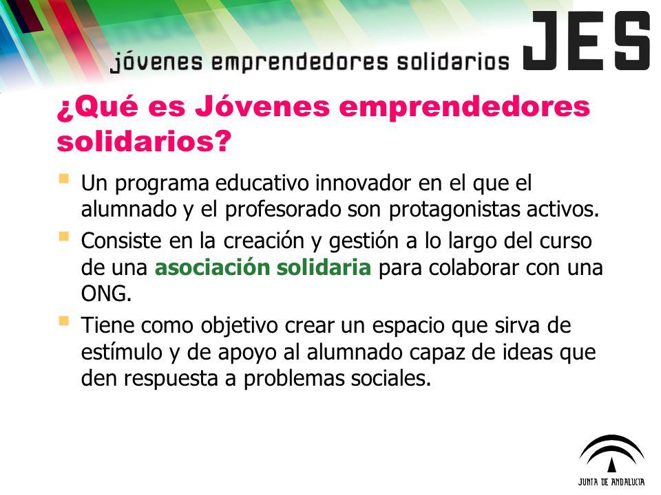 ¿Qué es Jóvenes emprendedores solidarios