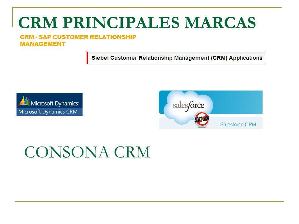 CRM PRINCIPALES MARCAS
