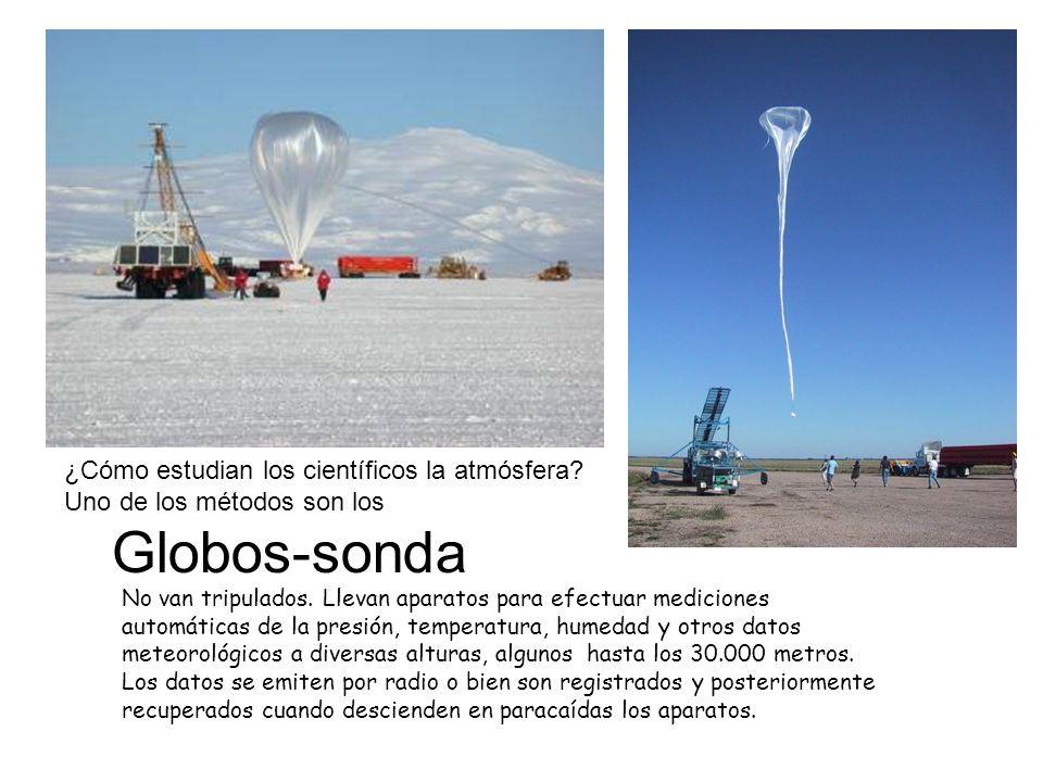 Globos-sonda ¿Cómo estudian los científicos la atmósfera