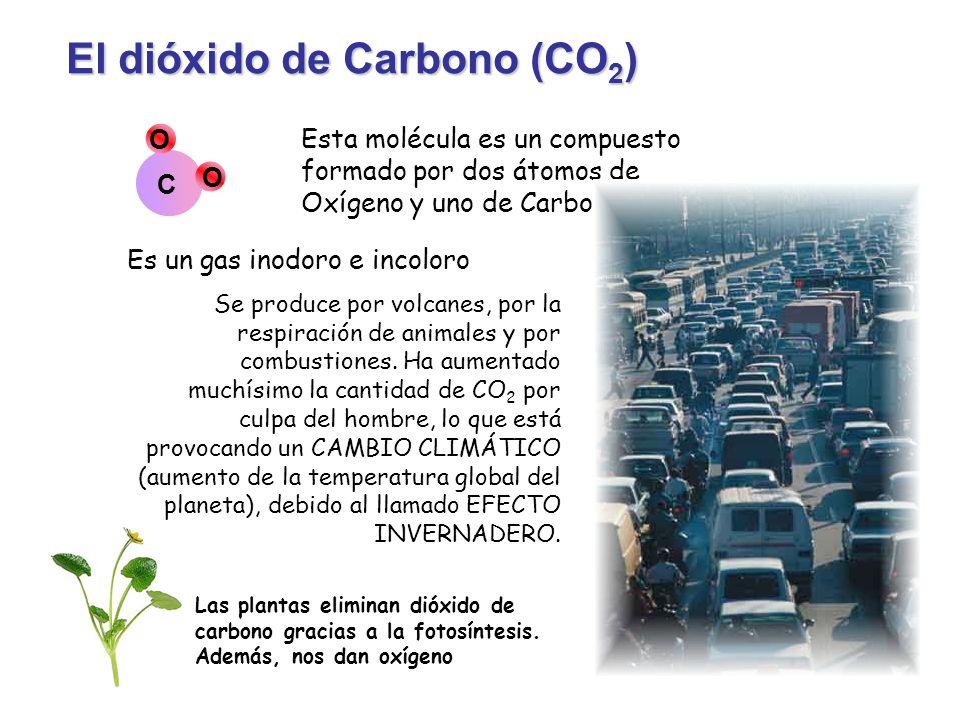 El dióxido de Carbono (CO2)