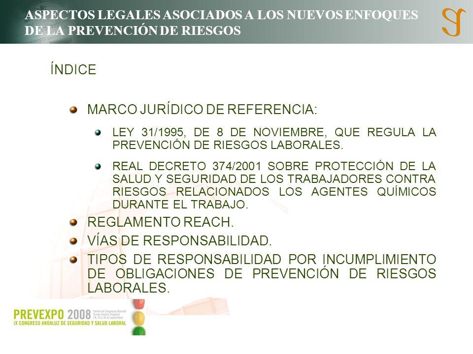 MARCO JURÍDICO DE REFERENCIA: