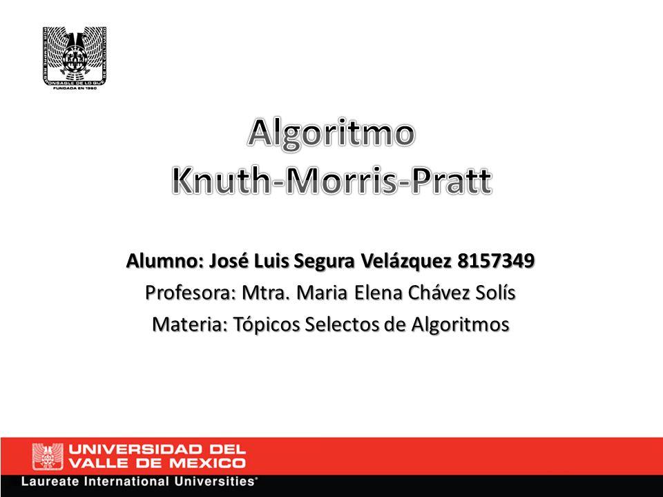 Alumno: José Luis Segura Velázquez 8157349