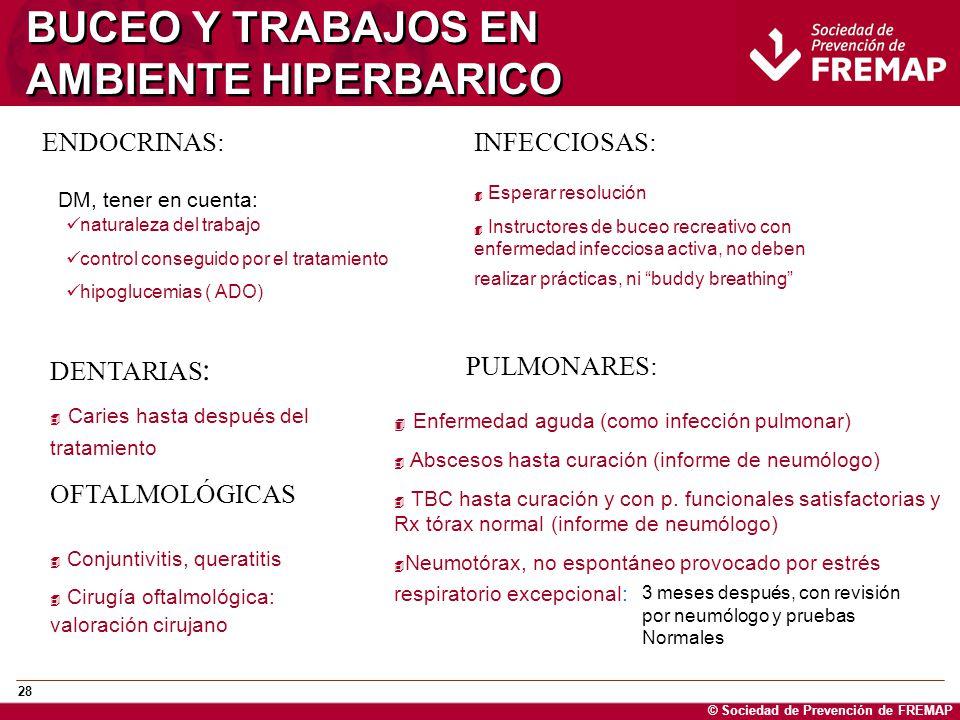 BUCEO Y TRABAJOS EN AMBIENTE HIPERBARICO