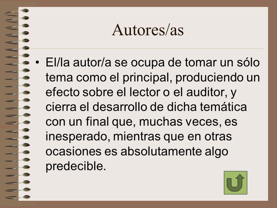 Autores/as