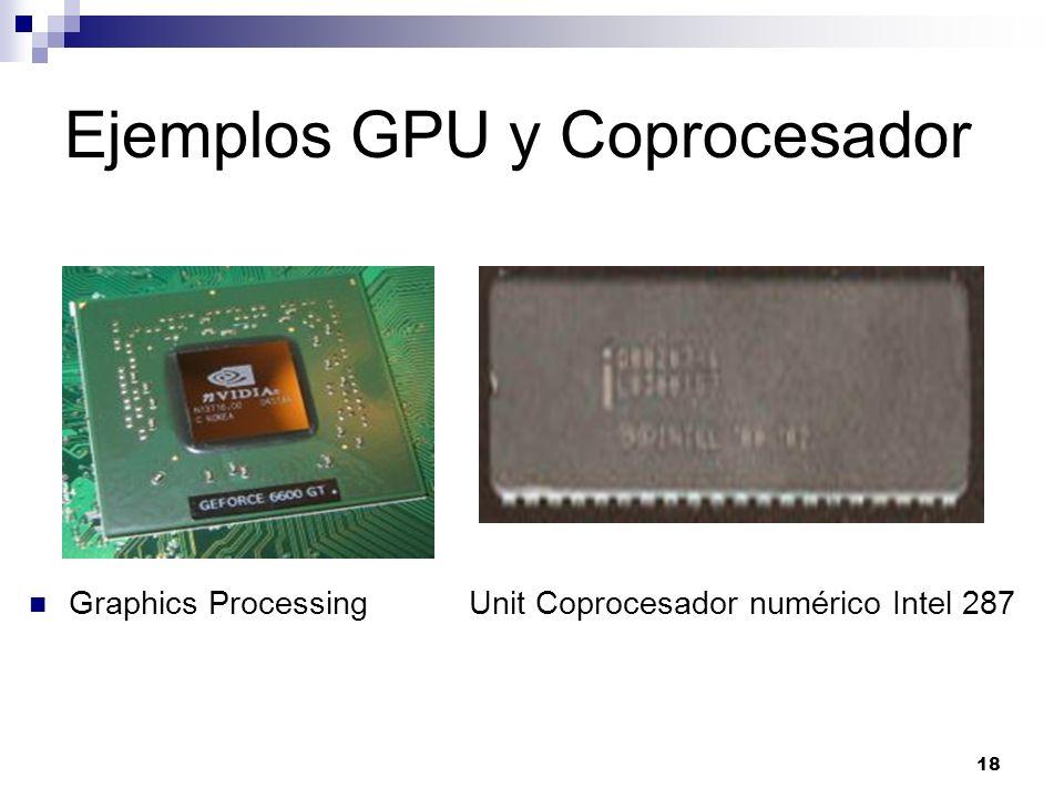 Ejemplos GPU y Coprocesador