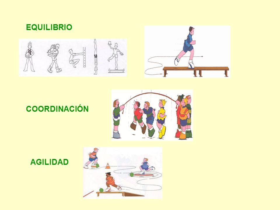 EQUILIBRIO COORDINACIÓN AGILIDAD