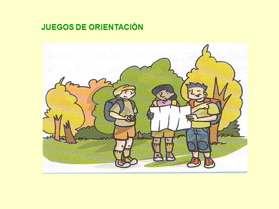 JUEGOS DE ORIENTACIÓN