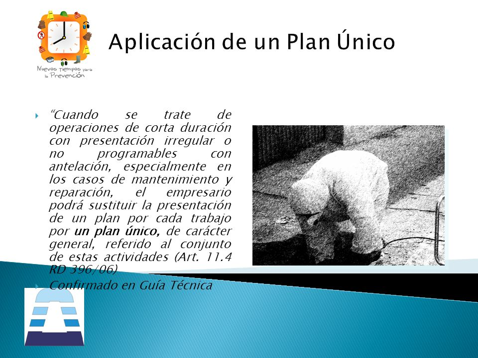 Aplicación de un Plan Único