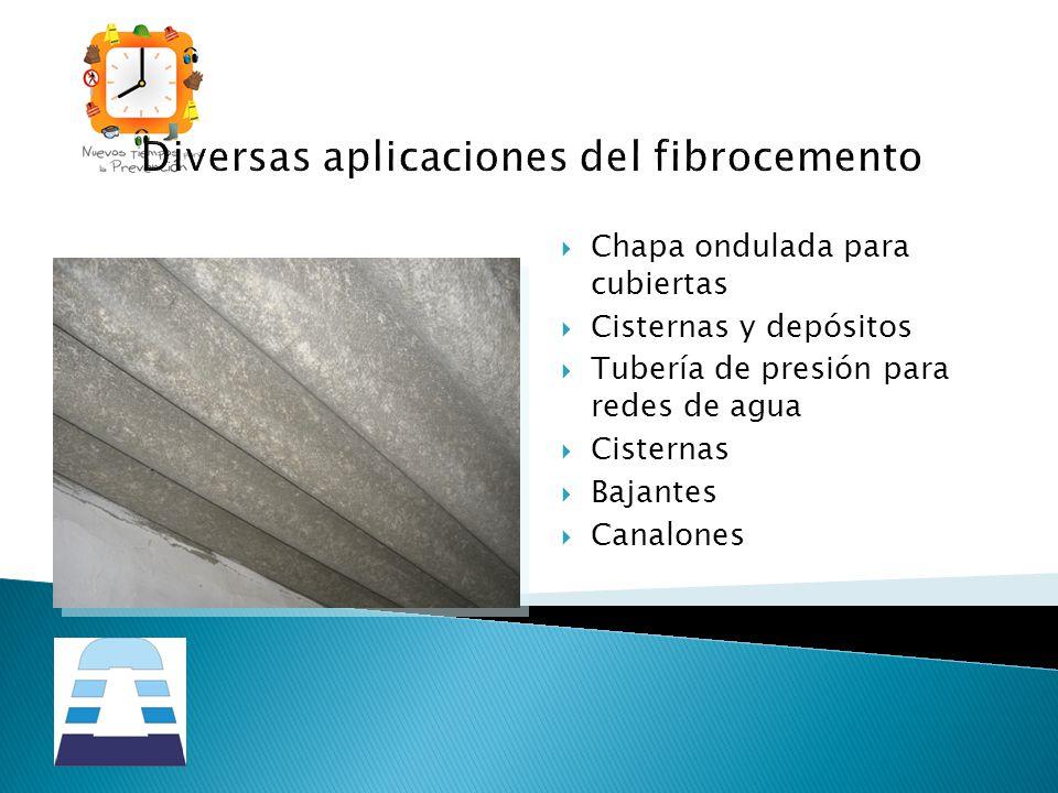 Diversas aplicaciones del fibrocemento