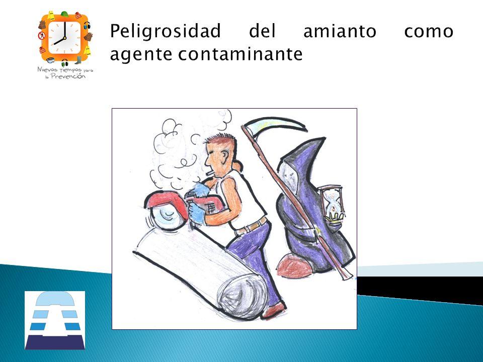 Peligrosidad del amianto como agente contaminante