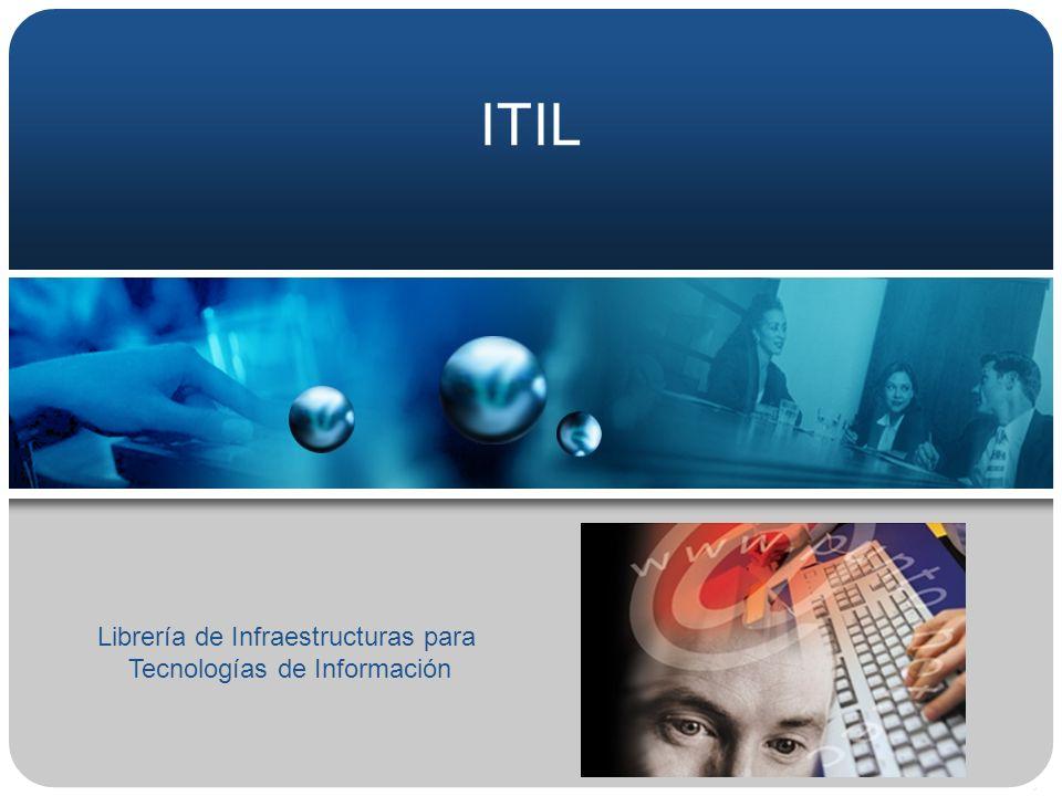 ITIL Librería de Infraestructuras para Tecnologías de Información