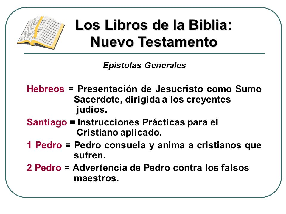 Los Libros de la Biblia: Nuevo Testamento