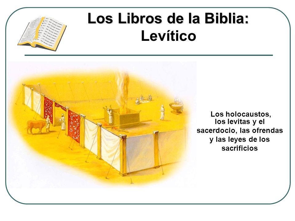 Los Libros de la Biblia: Levítico