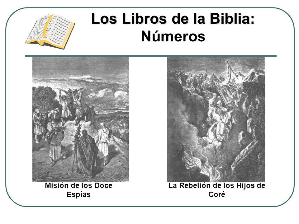 Los Libros de la Biblia: Números