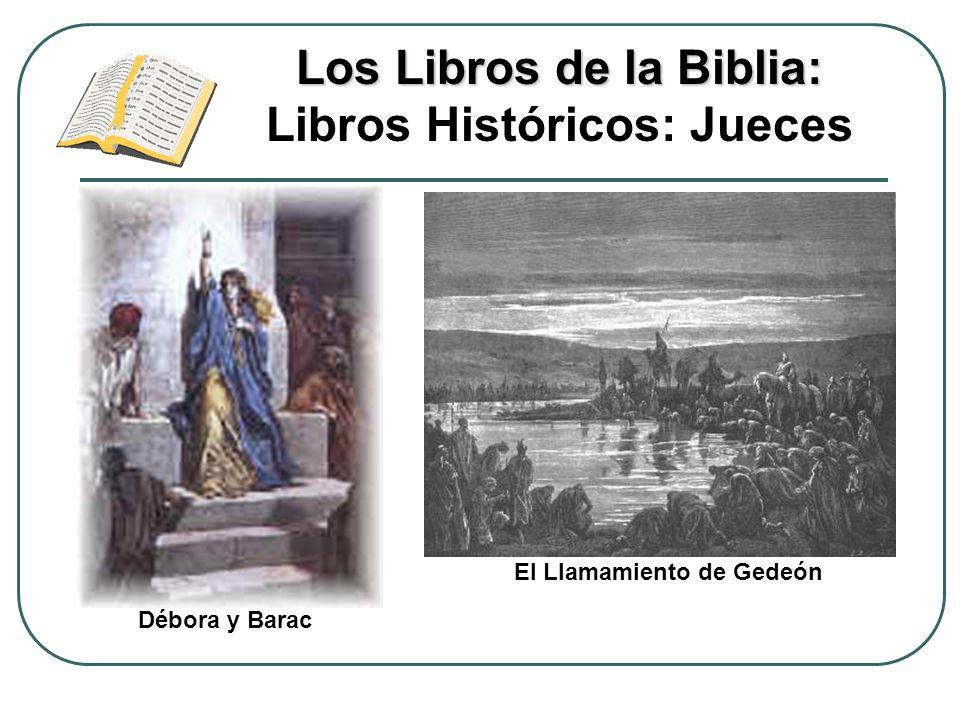 Los Libros de la Biblia: Libros Históricos: Jueces