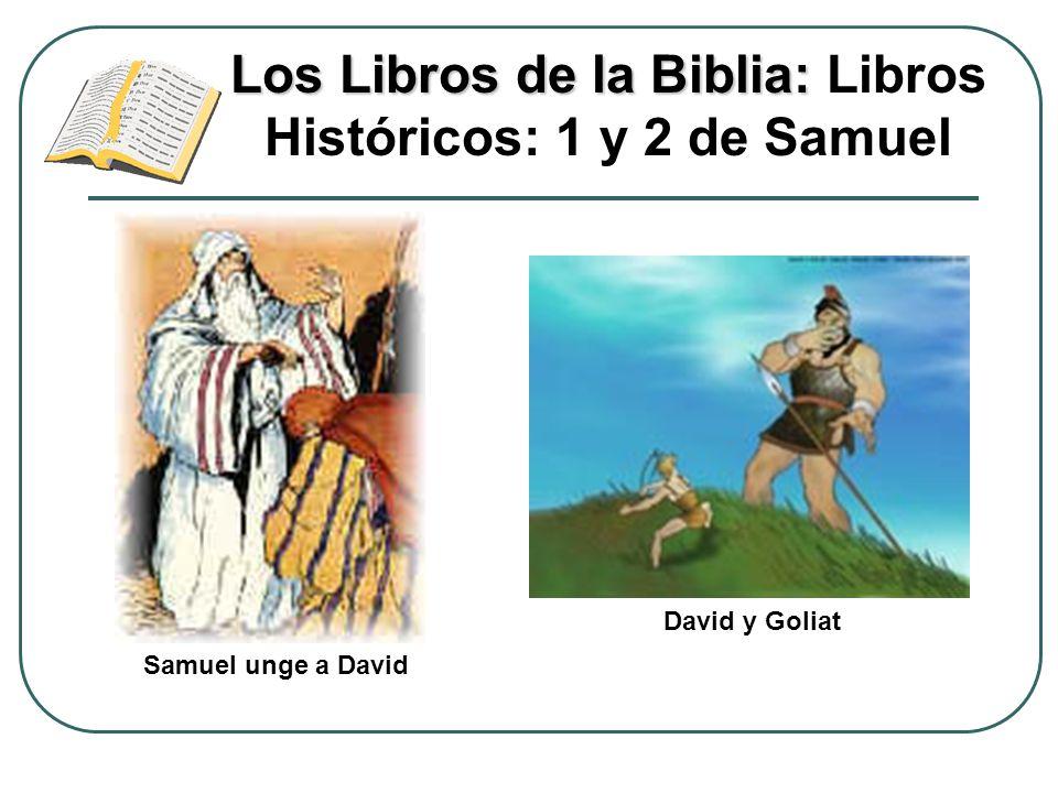 Los Libros de la Biblia: Libros Históricos: 1 y 2 de Samuel