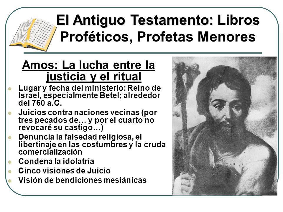 El Antiguo Testamento: Libros Proféticos, Profetas Menores