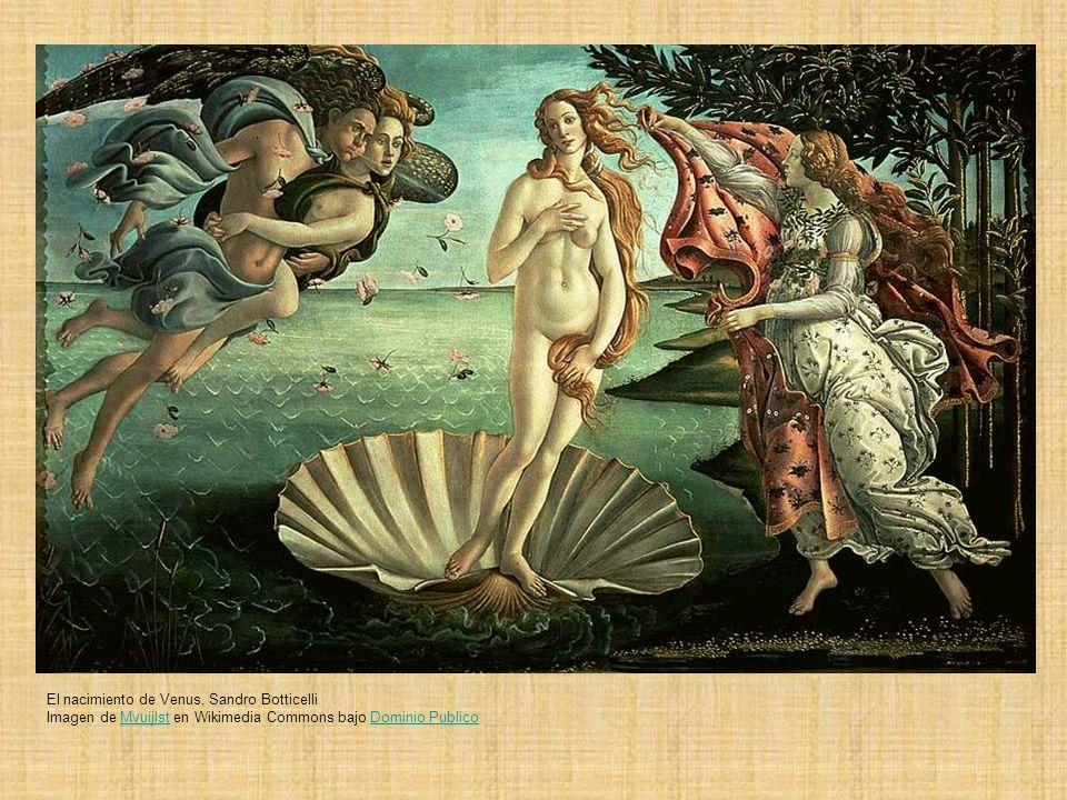 El nacimiento de Venus, Sandro Botticelli