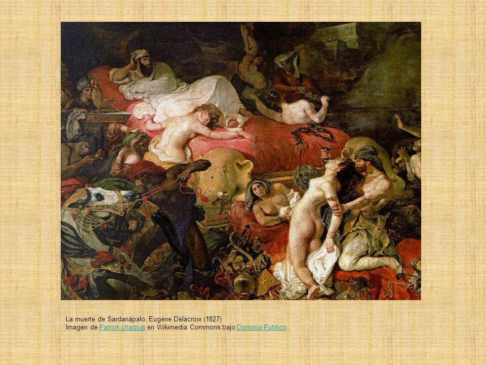 La muerte de Sardanápalo, Eugène Delacroix (1827)