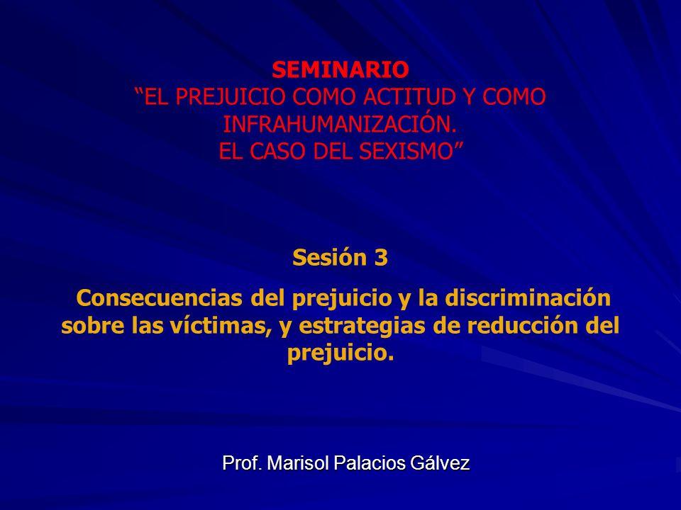 Prof. Marisol Palacios Gálvez