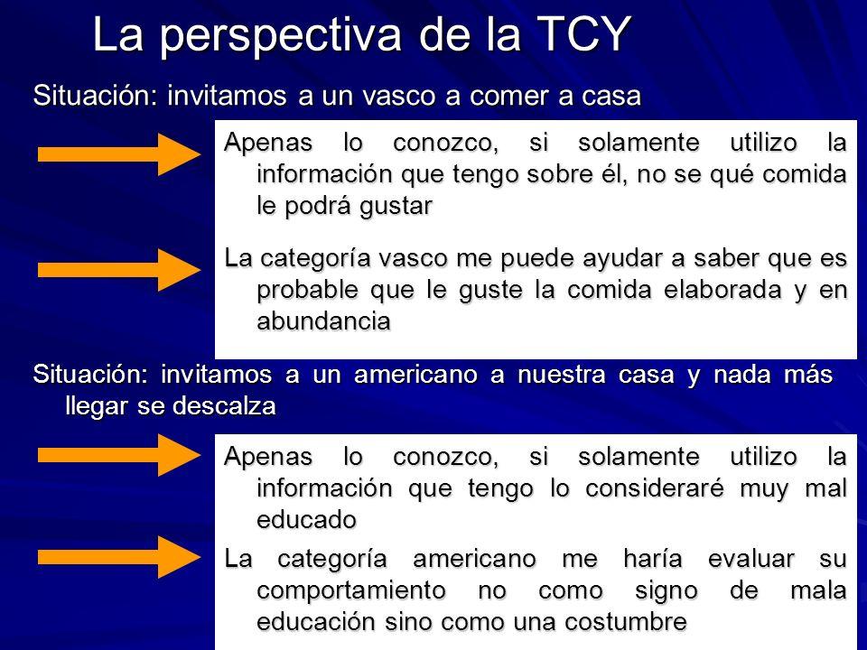 La perspectiva de la TCY