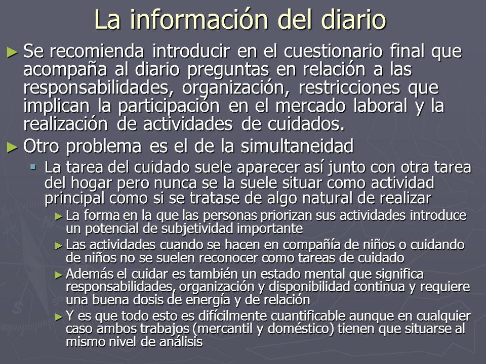 La información del diario