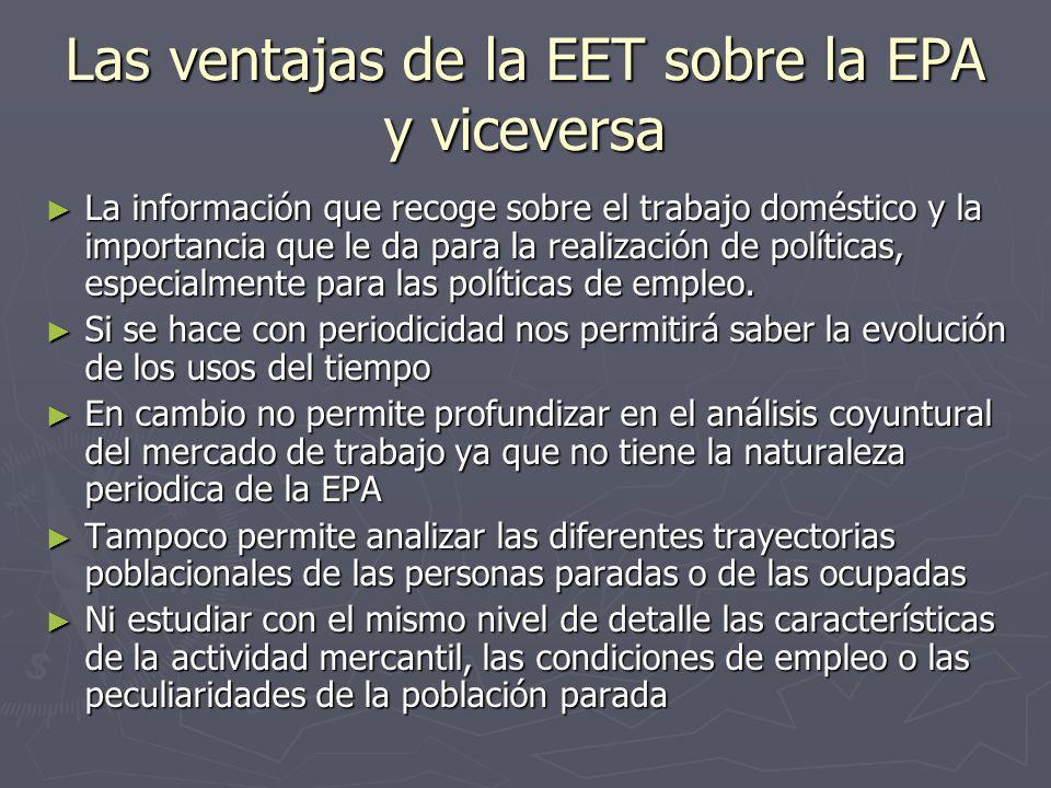 Las ventajas de la EET sobre la EPA y viceversa