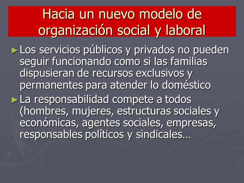 Hacia un nuevo modelo de organización social y laboral
