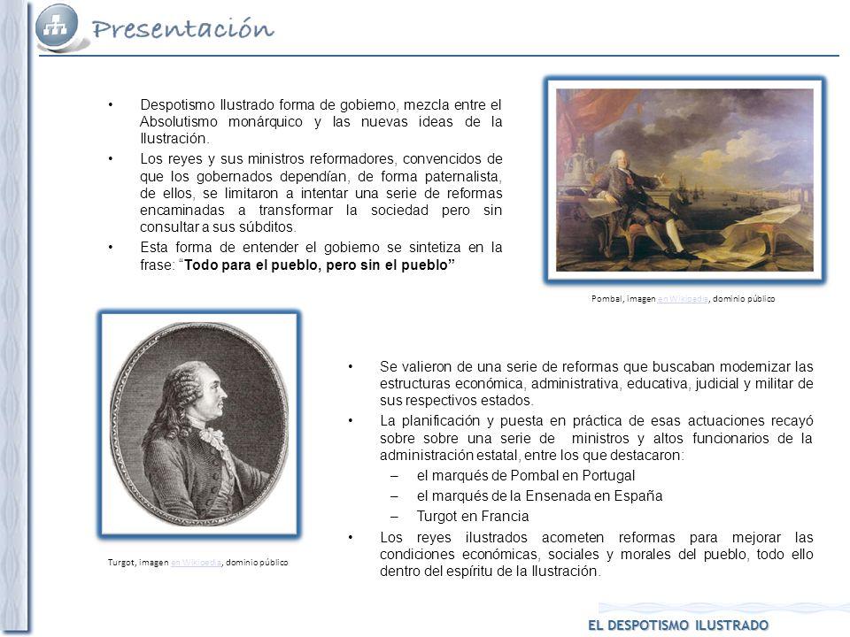 el marqués de Pombal en Portugal el marqués de la Ensenada en España