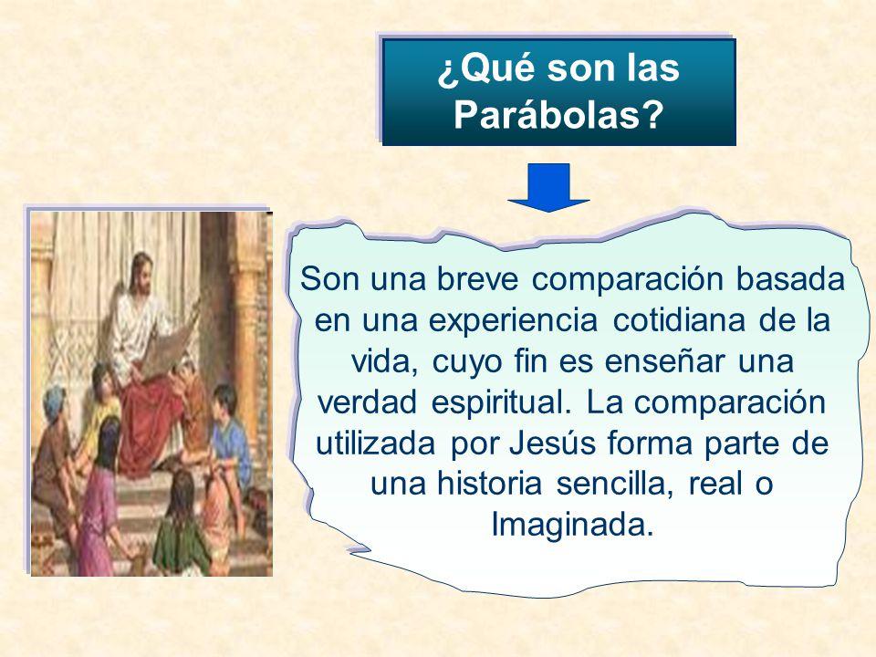 ¿Qué son las Parábolas