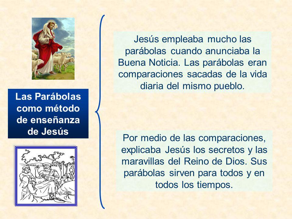 Las Parábolas como método de enseñanza de Jesús