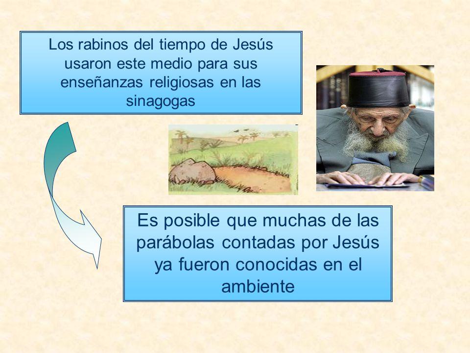Los rabinos del tiempo de Jesús usaron este medio para sus enseñanzas religiosas en las sinagogas