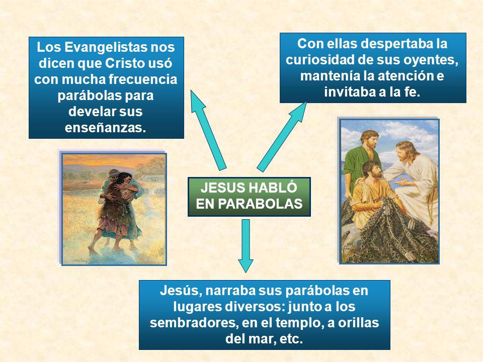 JESUS HABLÓ EN PARABOLAS