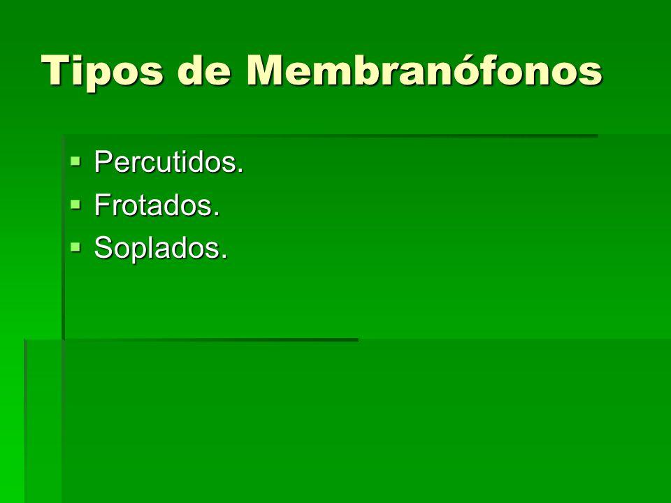 Tipos de Membranófonos