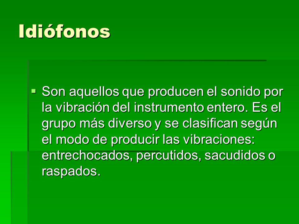 Idiófonos