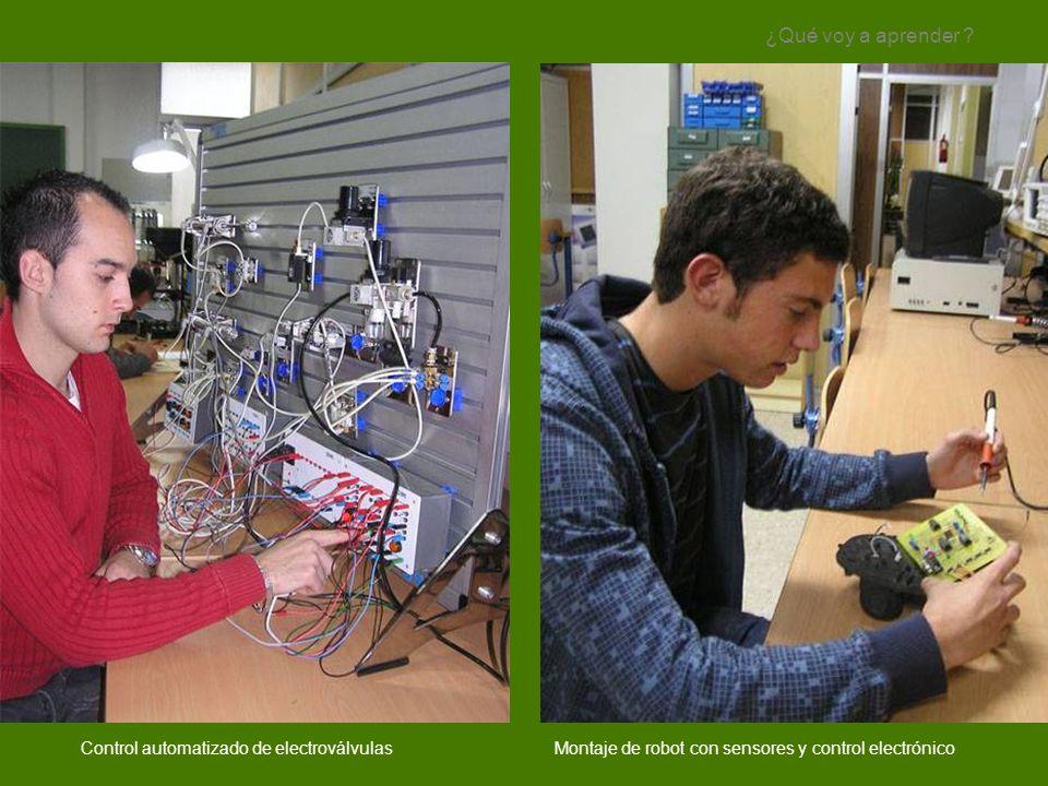 ¿Qué voy a aprender Control automatizado de electroválvulas