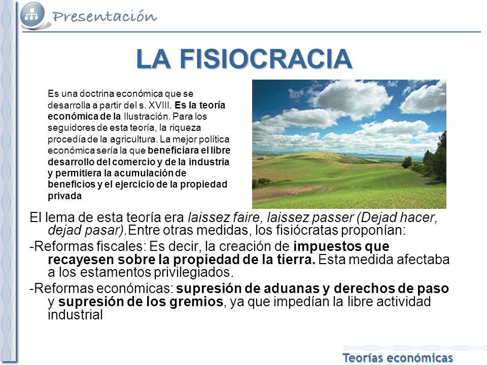 LA FISIOCRACIA